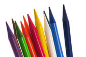 Collection of colorful pencils — Stock Photo