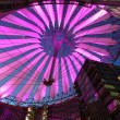 Sony center in Potsdamer Platz in Berlin, Germany - Stock Photo