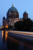 The Berliner Dom is a popular tourist destination in the heart o — Stock Photo