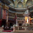 Inside St. Stephen Basilica in Budapest — Stock Photo