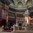 Inside St. Stephen Basilica in Budapest — Stock Photo #4814109