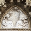Portal of the Zagreb cathedral in Croatia — Stock Photo