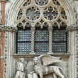 Foto de Stock  : Winged lion relief,Venice