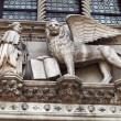 Winged lion relief,Venice — Stock Photo #4824502