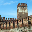 Tower, Verona, Italy — Stock Photo