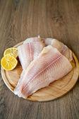 Raw Fish Fillet — Stock Photo