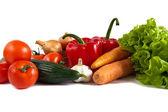 натюрморт с овощами — Стоковое фото