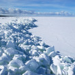 Stock Photo: Frozen gulf