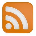 3d RSS Symbol — Stock Photo #3923246
