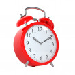 Royalty-Free Stock Photo: Red clock