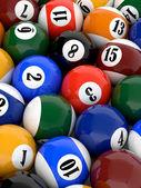 Koule pool — Stockfoto
