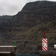 Los gigantes Tenerife Cliffs — Stock Photo