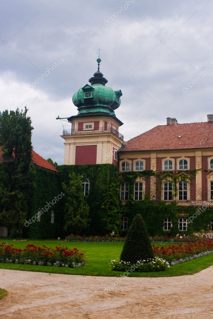 Polish Castle in Lancut  Stock Photo #4458911