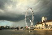 лондонский глаз — Стоковое фото
