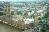 Palace and Big Ben — Stock Photo