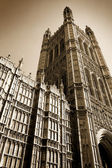Sepia Westminster — Stock Photo