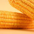 Close-up yellow sweetcorn - Stock Photo
