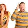 Funny couple — Stock Photo