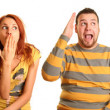 Funny couple — Stock Photo #4664455