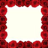红色框架 — 图库照片