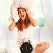 Woman in room — Stock Photo #4848697