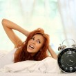 Woman in room — Stock Photo #4848699