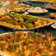 Served banquet table — Stock Photo