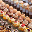 Diversity of pastry - Stok fotoraf