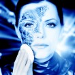Bionic woman — Stockfoto