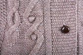 Brown knitted fabric — Stock Photo