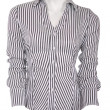 Stripped female blouse — Stock Photo