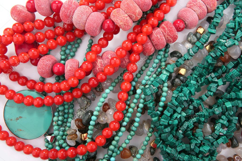 Jewelery on a pile making a perfect background — Stock Photo #4689725