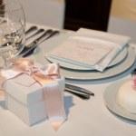 Elegant table setting — Stock Photo #4909095