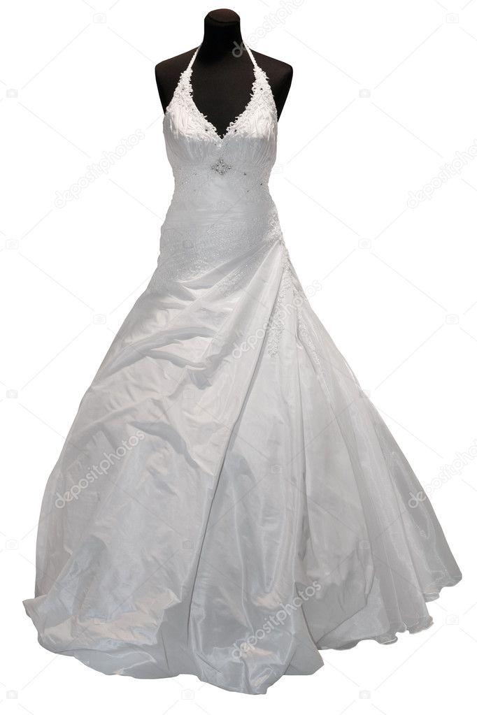 Wedding Dress On Mannequin Stock Photo C Gsermek 4919045