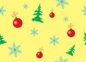 Вектор бесшовные цвет текстуры на Рождество — Cтоковый вектор