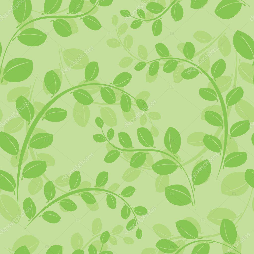 Бесшовный зеленый фон 8