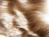 美丽的女人的头发 — 图库照片