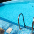 Stock Photo: Blue swimming pool