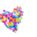 Shape of heart — Stock Photo