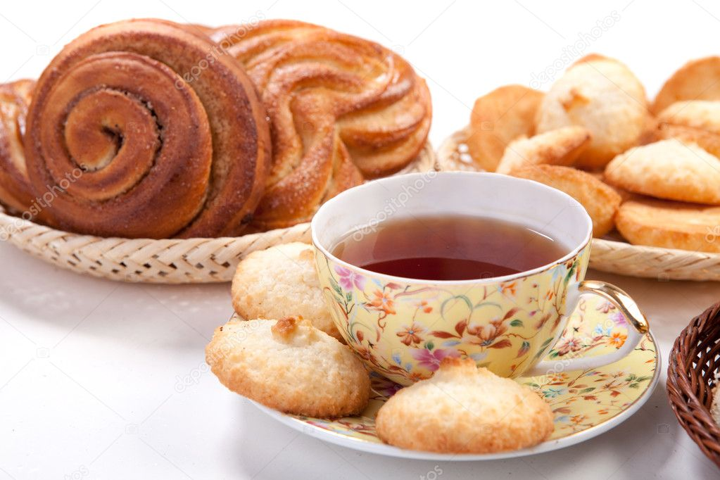 Выпечка к чаю фото и
