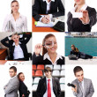 Set of business theme and — Stock Photo #4663447