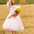 Woman in field — Stock Photo #4901203