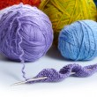 Stock Photo: Yarn balls