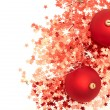 Stock Photo: Christmas balls and decorations