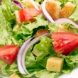 Salad background — Stock Photo