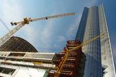 сайт строительные работы — Стоковое фото