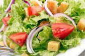 Salad background — Stock Photo