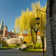 Wawel castle. Krakow - Stock Photo