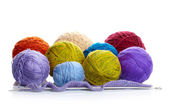 Yarn balls — Stock Photo
