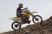 Enduro motocross — Stock Photo